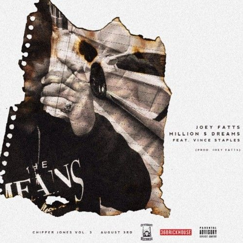 "Music: Joey Fatts (@JoeyFatts) Ft. Vince Staples | Million $ Dreams- http://getmybuzzup.com/wp-content/uploads/2014/07/Joey-Fatts-Feat.-Vince-Staples-Million-Dreams.jpg- http://getmybuzzup.com/music-joey-fatts-joeyfatts-ft-vince-staples-million-dreams/- Joey Fatts releases a new joint featuring Vince Staples titled ""Million $ Dreams"". Be on the look out for his upcoming project called 'Chipper Jones Vol 3' due out on August 3rd. Enjoy this audio strea"