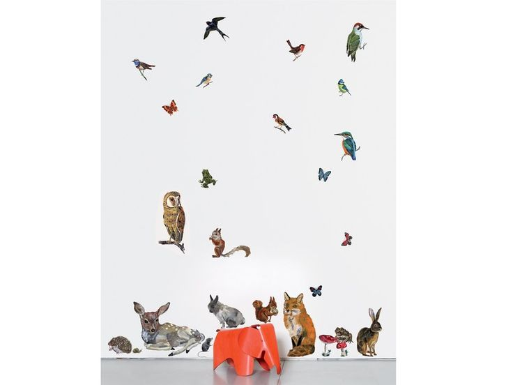 Vinyl wall sticker ANIMAUX 2 by Moustache