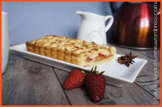 Crostata di mele e fragole | Ricetta di Pasticciando insieme | #RisanaLa