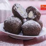 SZYBKIE PĄCZKI CZEKOLADOWE Z MASCARPONE - najlepszy przepis na delikatne, czekoladowe pączki z mascarpone. Zakochacie się w tych pączkach.