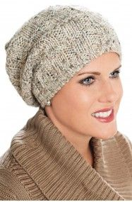 slouchy cap for cancer patients - beanie for chemo