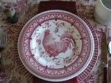 Rooster Plates on Pinterest |