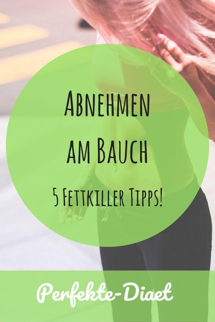 5 Tipps um das Fett am Bauch loszuwerden!