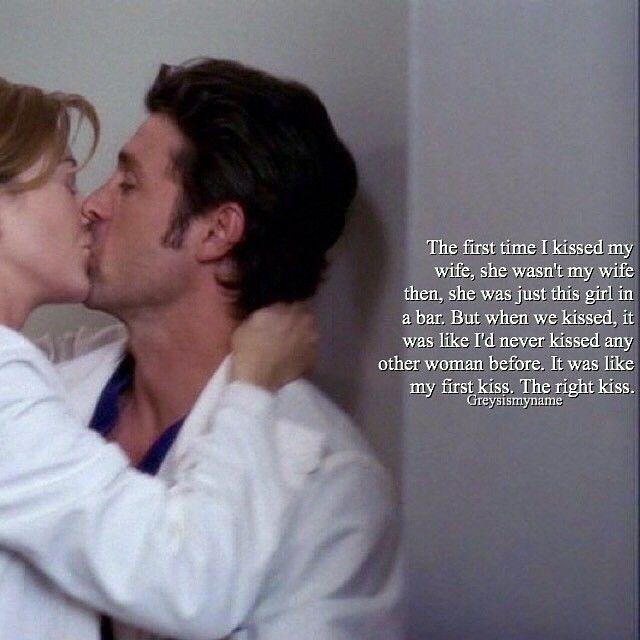 Meredith and Derek