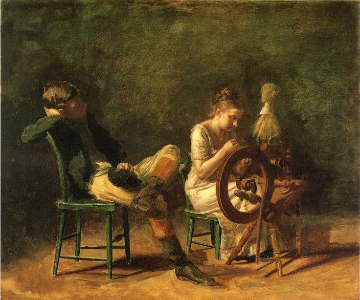 The Courtship - Thomas Eakins
