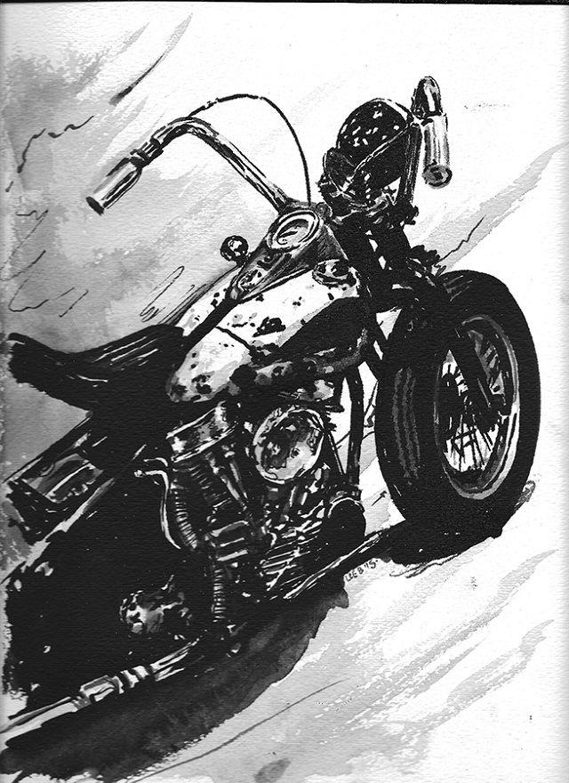 Artsy Fartsy Bike Art Artsy Motorcycle Art