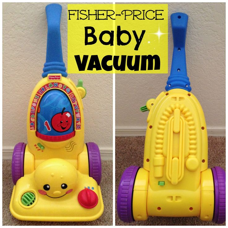 Fisher Price Laugh and Learn Vacuum Toy for Baby