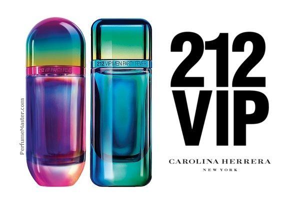 42ddf545c39c Carolina Herrera 212 VIP Party Fever New Perfumes 2018 - Perfume News   The  Geoffrey Group   Pinterest   Perfume, Fragrance and Carolina herrera 212 vip