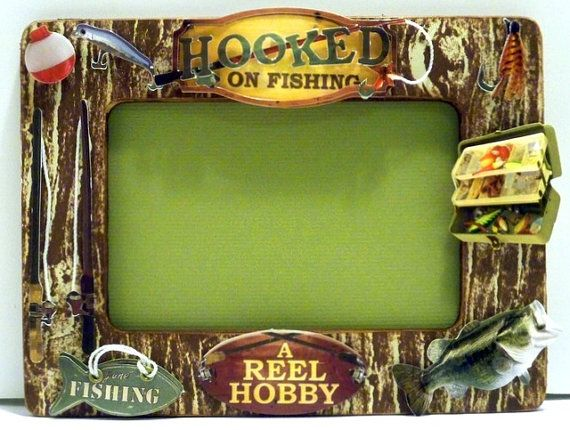 44 best images about pic frames on pinterest gone for Fishing picture frame