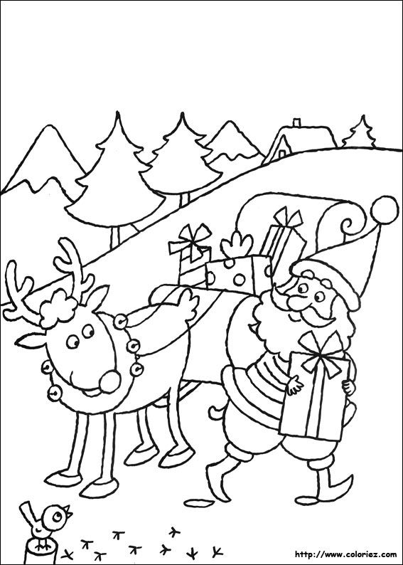 418 best papá noel y muñecos de nieve images on Pinterest Papa - new coloring pages for christmas story