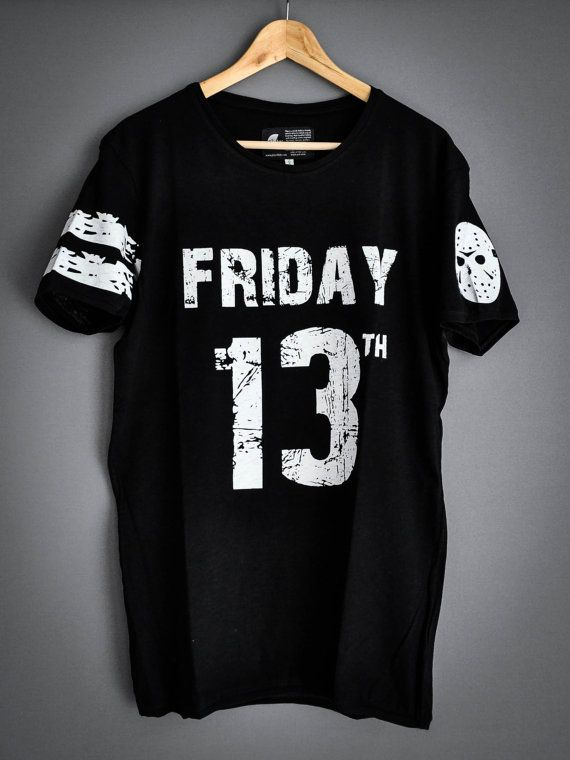 Friday 13th by PlayShirts on Etsy #play_shirts #playshirts #tshirt #friday13th #jasonvorhees #nfl #horror #80s #jinx