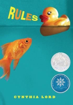 Rules by Cynthia Lord. Frustrated at life with an autistic brother, twelve-year-old Catherine longs for a normal existence but her world is further complicated by a friendship with an young paraplegic.