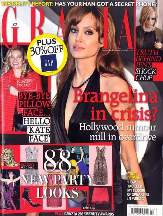 Angelina Jolie (2013.11.18. Grazia) #AngelinaJolie