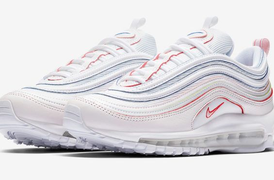 4d0b795307e Bright Colors Land On This Clean Nike WMNS Air Max 97 The Nike WMNS Air Max