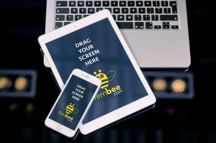 iPad, iPhone and MacBook PSD. #free #psd #apple #ipad #iphone #mac #laptop #digital #design #mockup #business #mobile #Pad Air #iPhone 6 #MacBook Air #smart objects #HD PSD