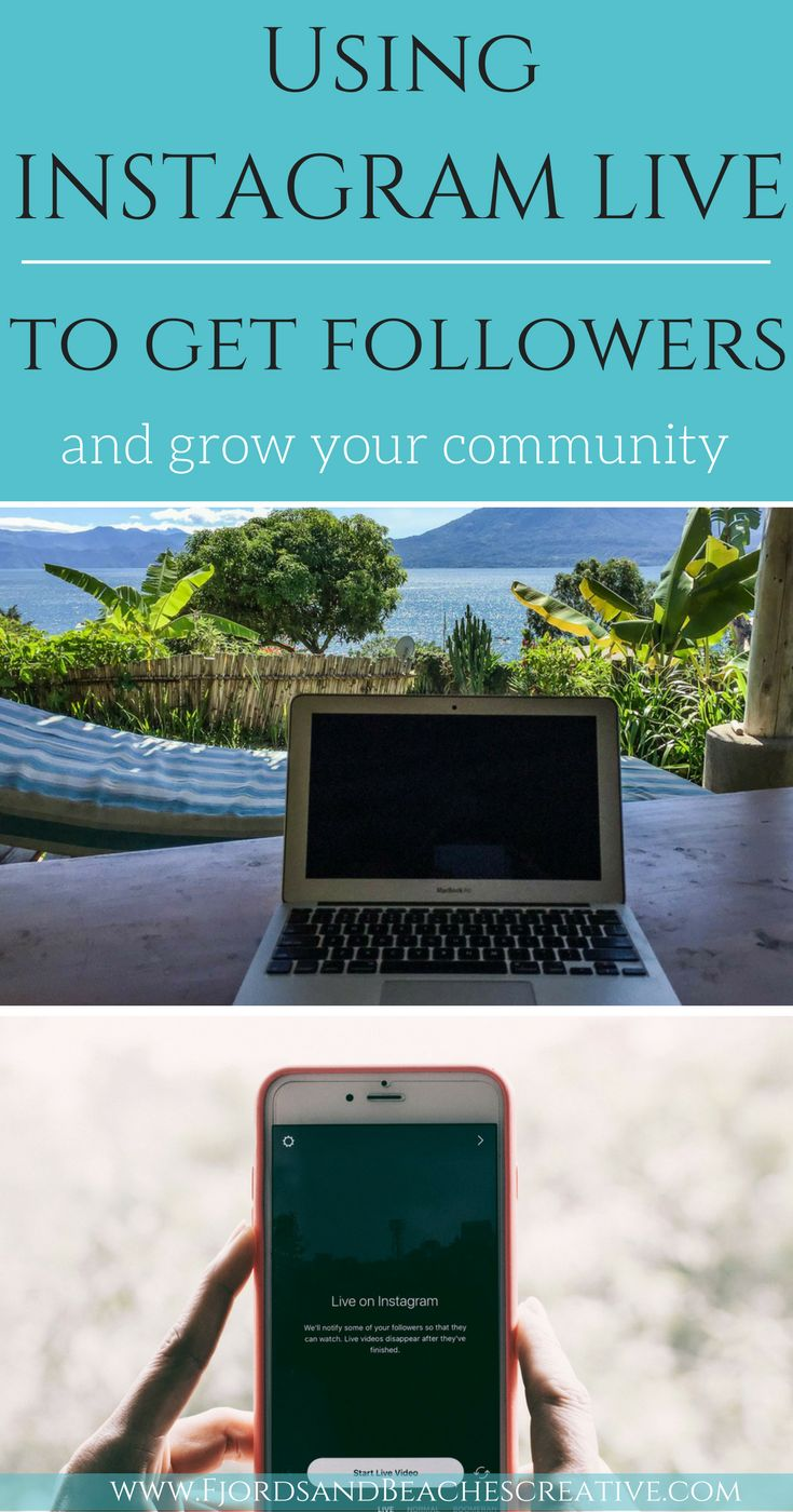 Using Instagram live, how to use instagram live, instagram live help, guide to instagram live