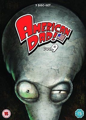 #American dad - #season 9 #[dvd] - brand new,  View more on the LINK: http://www.zeppy.io/product/gb/2/151456450366/