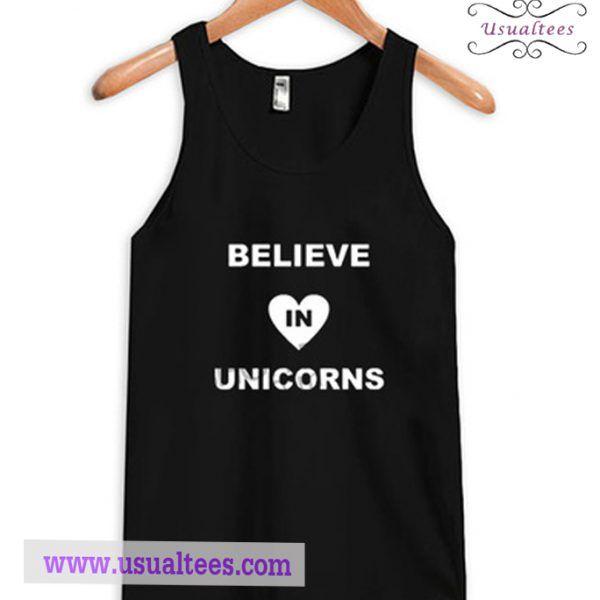 I Believe In Unicorns Tank Top