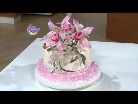 Jorge Rubicce - Bienvenidas en HD - Modela Orquídeas con porcelana fría. - YouTube
