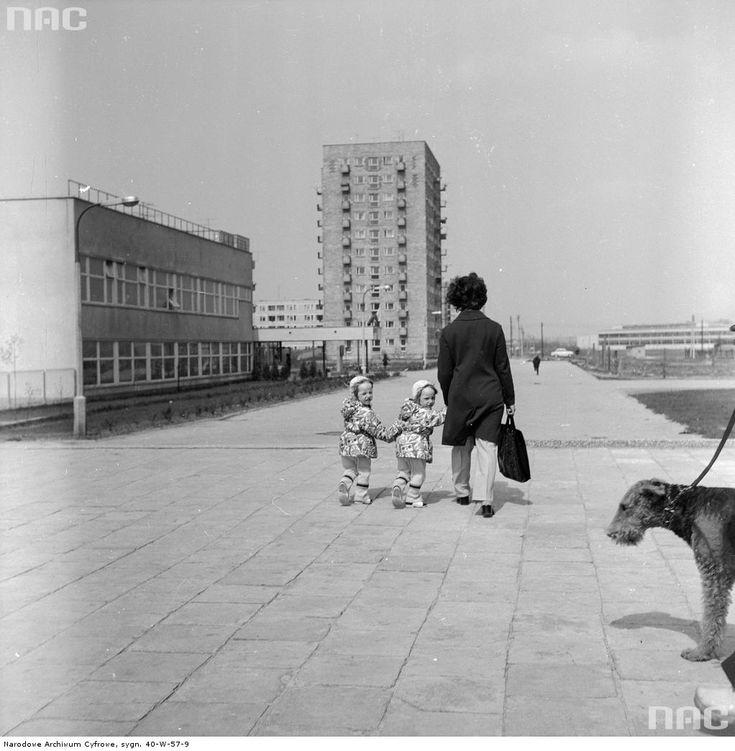 Warszawa, Sadyba, 1974.