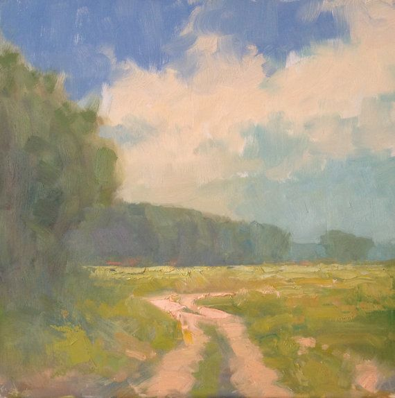 Chequessett Afternoon - original landscape oil painting by Steve Allrich