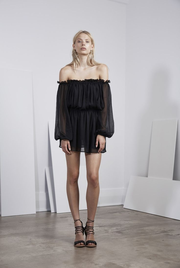 Finders Keepers - Mateo L/S Top Black