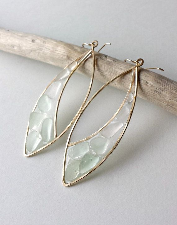 Angela from Bella Anela Jewelry, another wonderful Etsy artist, is creating very delicate pieces using open back bezels and resin.