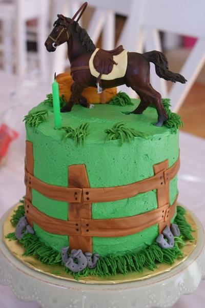 Horse Birthday Cake ideas                                                                                                                                                                                 More