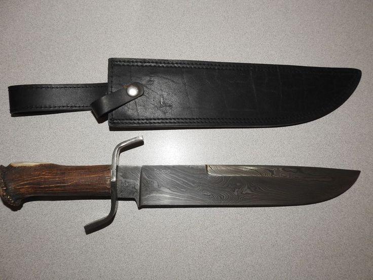 Bowie Knife, Custom Knife by Pat Garrett    eBay
