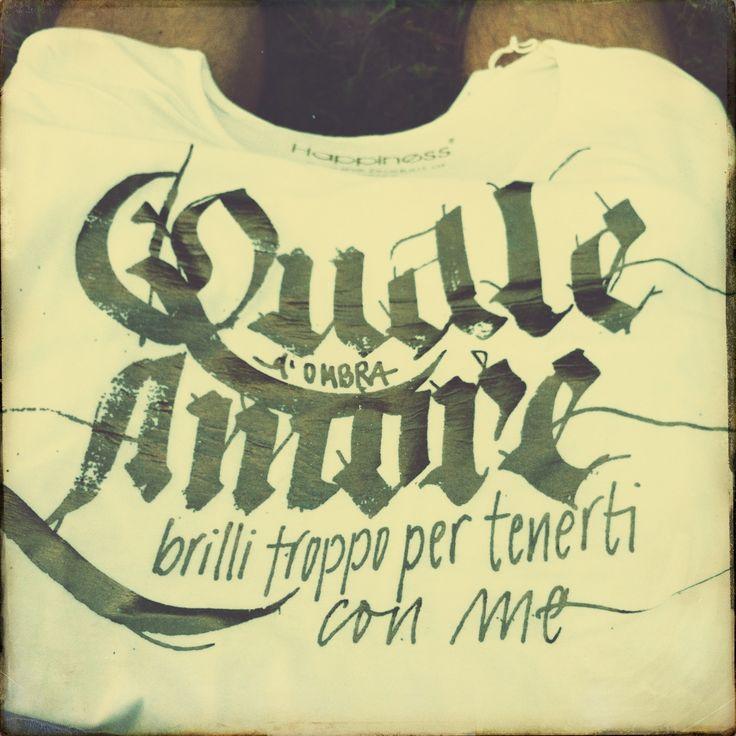"Blastema  T-Shirt ""Quale Amore"" Original Merchandising"