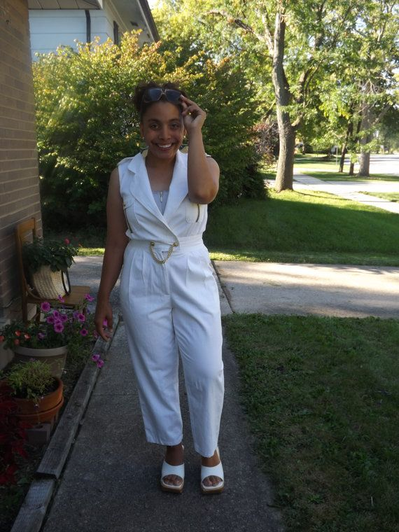 Vintage Nautical Jumpsuit from LaCosta by 14thStreetVintage