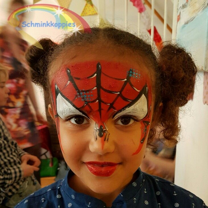 Love this girl. She really wanted to be Spiderman.
