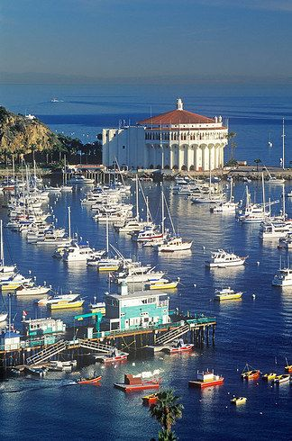 Avalon, CA been there     an it feels like your in another country     :)