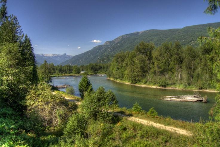 Slocan River. British Columbia. Canada.