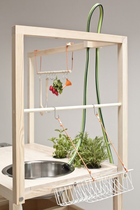 a mobile kitchen designed by Anna Rosinke and Maciej Chmara has won the top prize at the inaugural NWW Design Awards at Vienna Design Week.