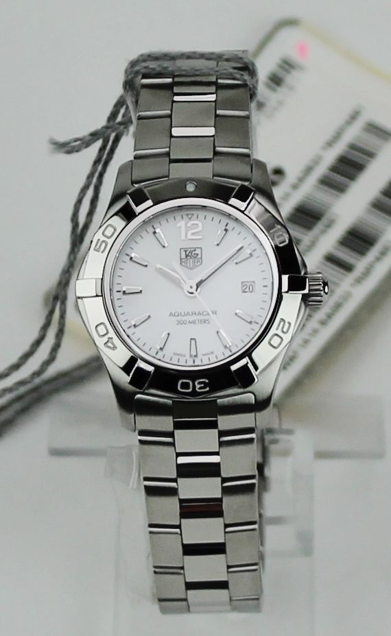 "TAG Heuer Women's WAF1414.BA0823 ""Aquaracer"" Stainless Steel Watch Retail $1700 #TAGHeuer #LuxuryDressStyles"