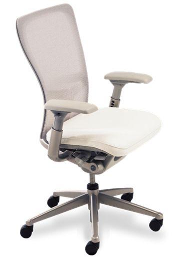 Zody Task Seating White Chair Haworth