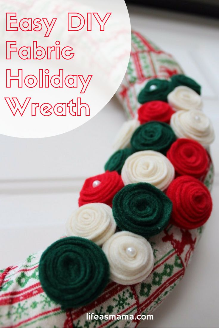 Such a simple idea to make a homemade and custom holiday wreath! Minimal supplies and can be done in just a few hours.