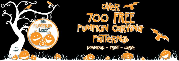The Pumpkin Lady - Free Pumpkin Carving Patterns