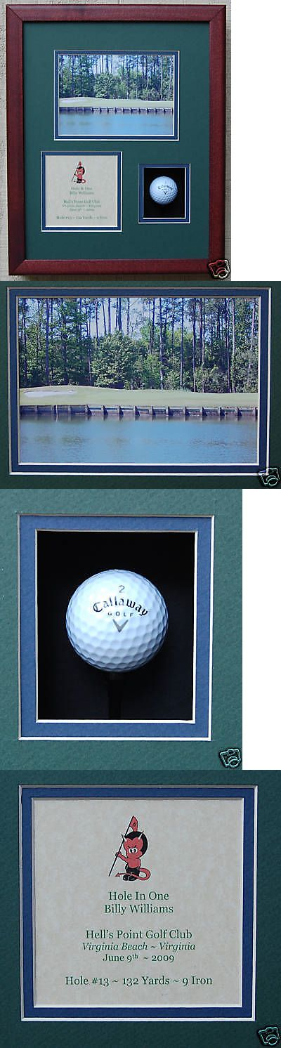 Other Golf 630: Hole In One Golf Trophy Shadow Box For Golf Ball -> BUY IT NOW ONLY: $99.95 on eBay!