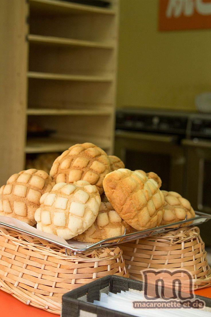 Melon pan - メロンパン – le «pain melon» spécialité boulangère japonaise