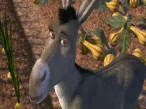 ▶ Donkey from shrek the The Italian Christmas Donkey - YouTube