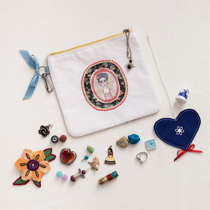 Cuchtelná kapsička na poklady / señorita Conchita