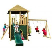 Plum® Warthog Wooden Children Climbing Frame