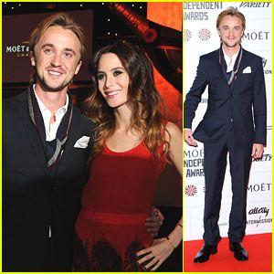 Tom Felton & Jade Olivia: British Independent Film Awards 2012 at Old Billingsgate in London on Dec 9, 2012