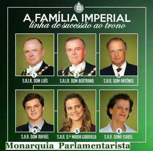 Atual linha de sucessão ao Trono Brasileiro. #MONARQUIAJÁ   #IMPÉRIO   #BRASIL   #SUCESSÃO   #TRONO   #FORArepública   #EUQUEROUMIMPERADOR   #MONARQUIA   #PARLAMENTARISTA   #PARLAMENTARISMO   #MONÁRQUICO   #REIS