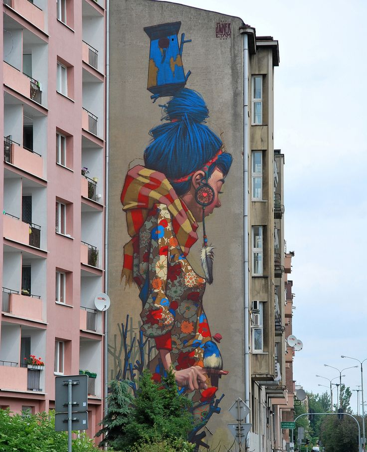 Łódź, Poland (Artist: Etam Cru) | 14 Everyday Places Completely Transformed By Art---DAVID WALKER!