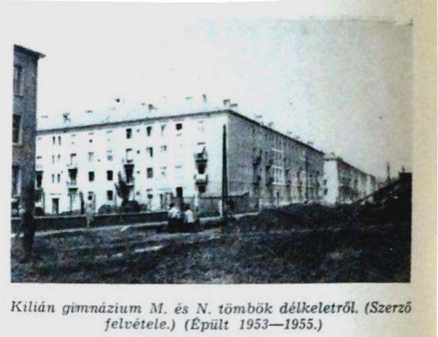 Kilián Észak M és N tömbök fotó: ifj. Horváth Béla forrás: Borsodi Műszaki Élet 1957 okt.
