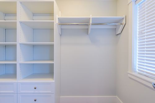 Have a reach-in closet? Don't put up with the traditional one rod, one shelf set-up any longer. Find out how! https://goo.gl/CLXkxn