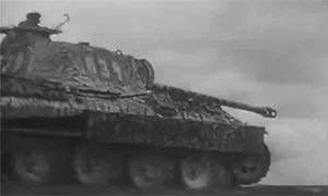 The Panthers of the 5. SS Panzer Division Wiking in action in Kovel sector, where the division saw fierce combat in the spring of 1944.